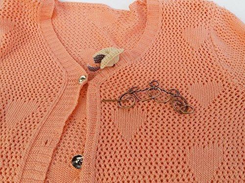 Copper Crown Hair Clip Stick, Hair Slide Fork, Hair Jewelry, Women Gift