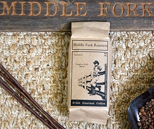 Middle Fork Tough as Nails Blend | Dark Roast Whole Bean Coffee, Pack of 2 | Roasted in Seattle