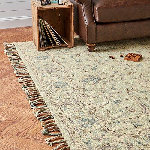 Stone & Beam Serene Transitional Wool Area Rug, 8' x 10', Multi by Stone & Beam (Image #2)