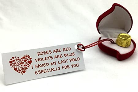 my last rolo romantic christmas valentines birthday special novelty gift present by clever little gifts perfect