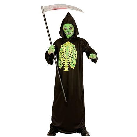 NET TOYS Costume della Morte per Bambini - 123 - 128 cm 20a118a41c6