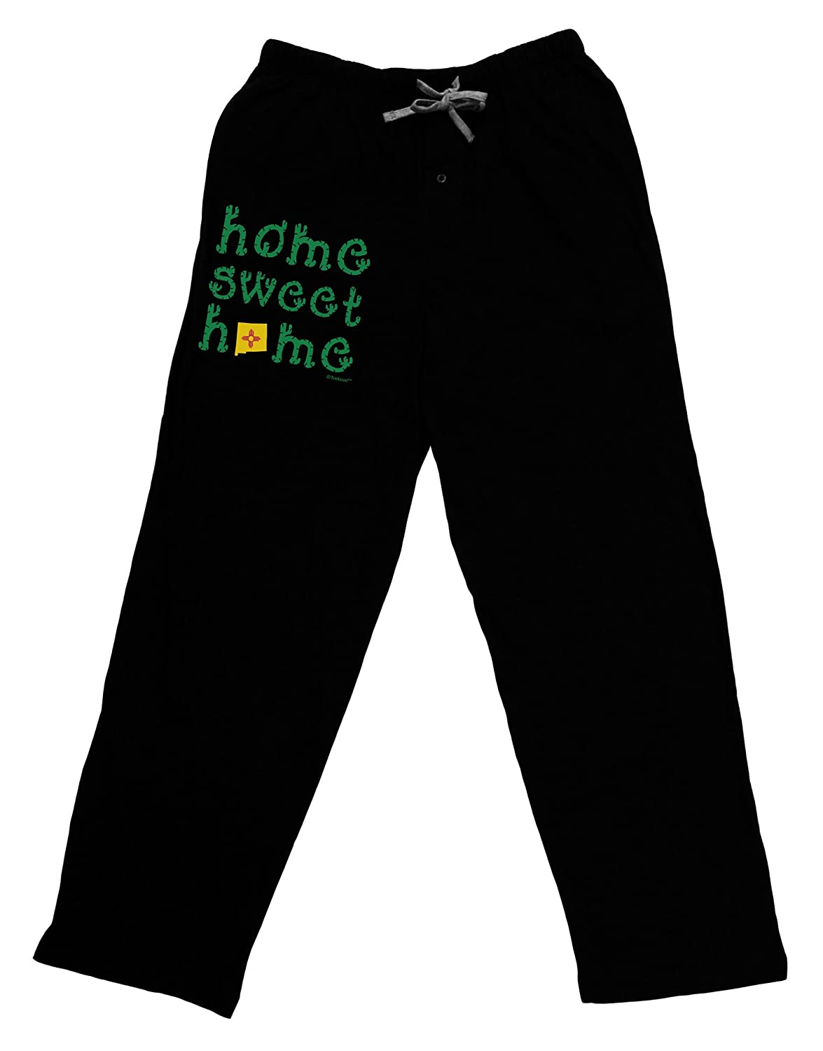 New Mexico TooLoud Home Sweet Home Cactus and State Flag Adult Lounge Pants
