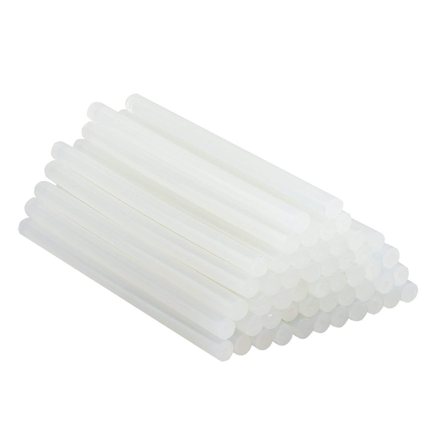 EKIND 105Pcs Hot Melt Glue Sticks (0.27'' Dx 7.5''L) for Hot Glue Gun, DIY Gadget, Small Craft Projects and Quick Repairs in Home and Office
