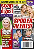 Joshua Morrow and Sharon Case; Scott Elrod and Jessica Collins (Young and the Restless); Sean Kanan and Rena Sofer; Katherine Kelly Lang (Bold and the Beautiful) - October 6, 2014 Soap Opera Digest Magazine