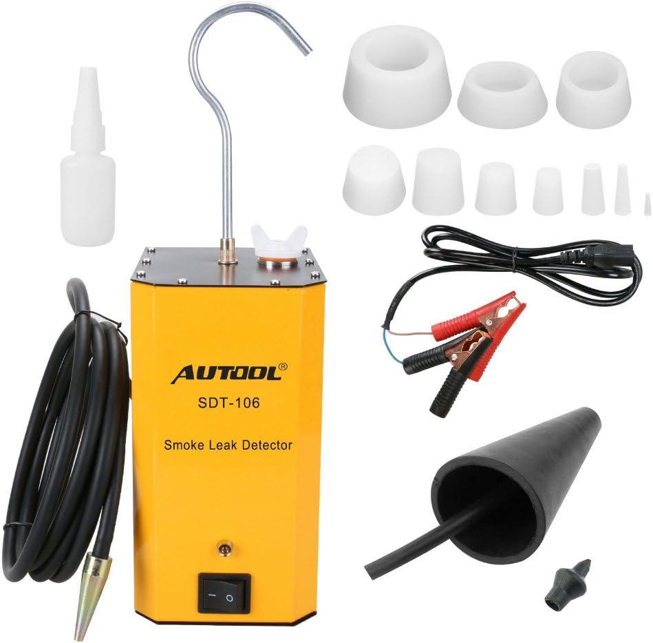 AUTOOL SDT-106 Automotive Diagnostic Fuel Leak Detectors EVAP Pipe Leakage Tester Locator For 12V Vehicles