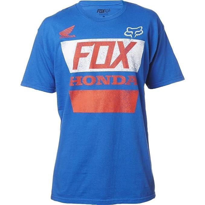 Camiseta Fox Honda Distressed Azul (S , Azul)