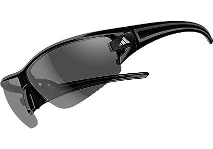 1a60201a5d96 Adidas A402 00 6065 Shiny Black Evil Eye Halfrim L Wrap Sunglasses Cycling