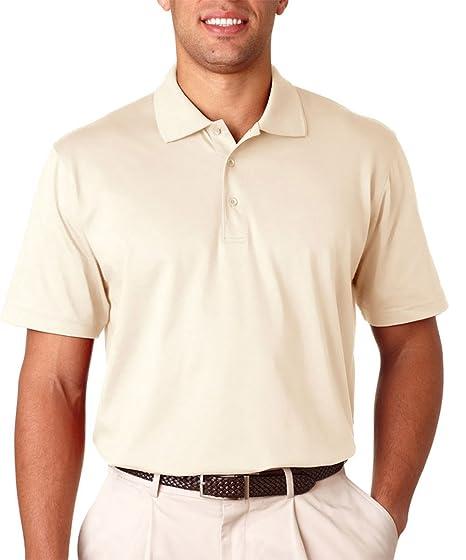 c16b34a6729 Amazon.com: IZOD Men's Pima Cool Performance Jersey Polo, Off White, Small:  Clothing