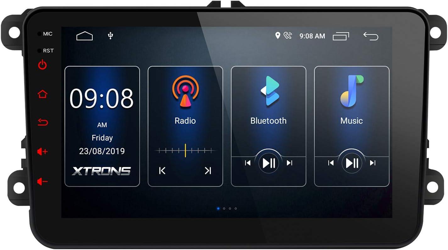 Xtrons 8 Android 10 Autoradio Quad Core Multimedia Elektronik