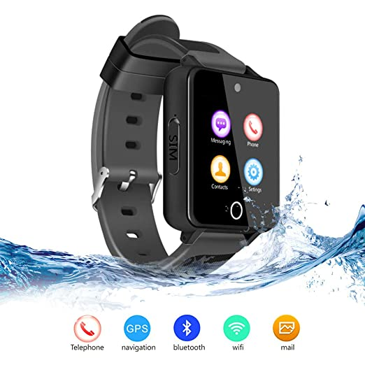 TLgf Smart Watch Bluetooth Wear Technology Reloj de cámara HD de 2 ...