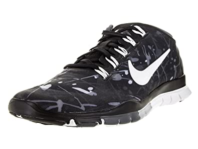 nike womens free tr connect 2 training sneakers blue\/black\/white