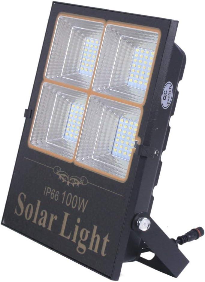 Proyector Led Solar Orientable Con Panel Solar Separado, 100W ...