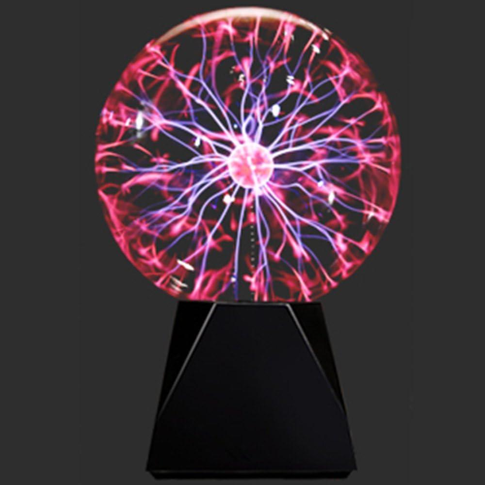 Glas Plasma Ball Plug in Sphere Globe Lampe Party Dekoration Prop USB
