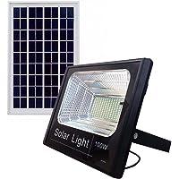 Refletor Holofote Led Solar Com Placa Completo 6000k 100w