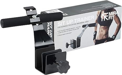 Under Door Sit Up Bar Fitness Workout Slimming Ab Under Door Attachment Home Gym