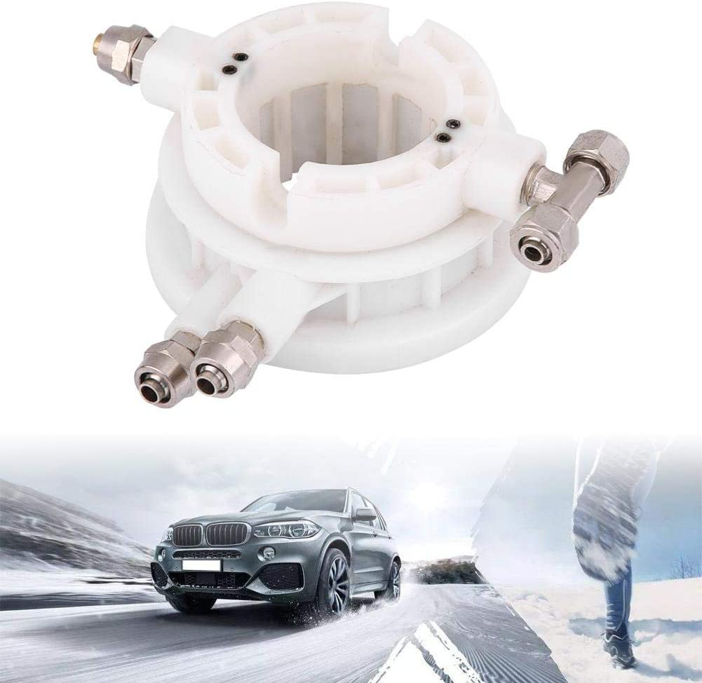 Terisass Tyre Tire Changer Part Car Tyre Tire Changer Rotary Coupler Coupling Air Control Valve 49mm