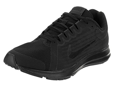 34ed7c664cad3 Nike 922853-006  Downshifter 8 Boys  Black Black Anthracite Running Sneakers