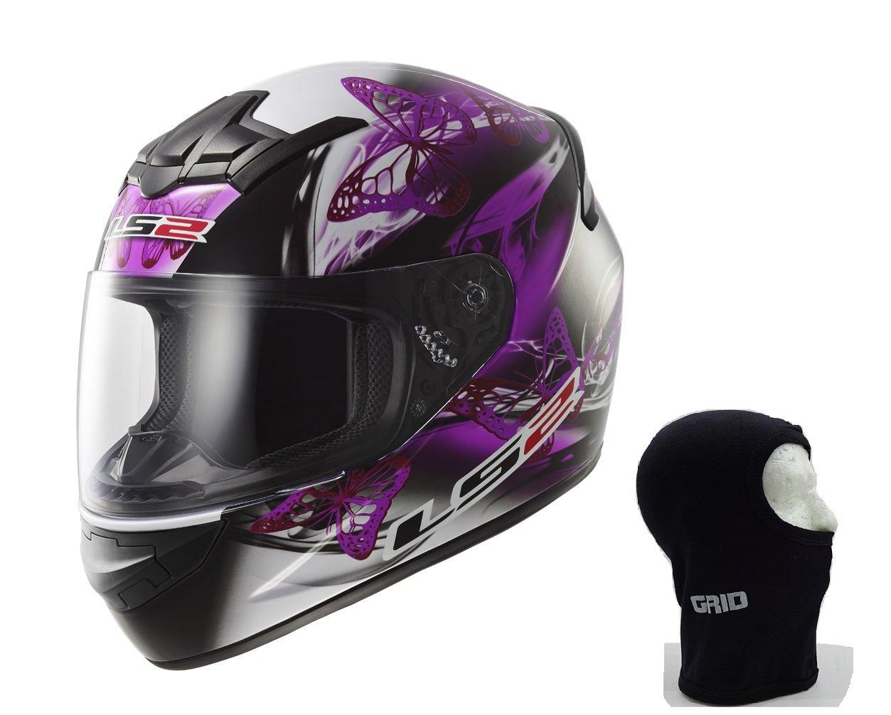 Motorcycle Helmet LS2 FF352 Flutter Rookie Helmet Lady 2 Colours + Balaclava LS2 FF352 ROOKIE
