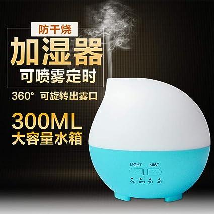 HDFIER humidificador chico vapor frio Difusor de Aceites Esenciales, purificador de aire de para el Hogar, Oficina ...