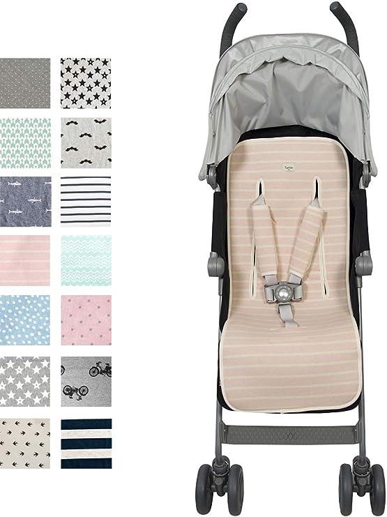 Fundas BCN ® - F219/4003 - Colchoneta universal para silla de paseo - Estampado Ice Cream: Amazon.es: Bebé