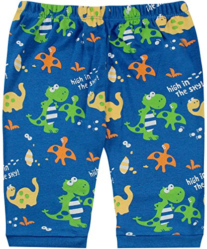 Boys Pajamas Boys Dinosaur Little Kid Shorts Set 100% Cotton Clothes Short Sleeves Sleepwear 8Y by shelry (Image #3)