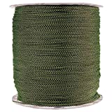 PARACORD PLANET 1.8 MM Dyneema Speed Lace - 10 Feet - Black & Yellow Color - Unbreakable and Lightweight Fiber