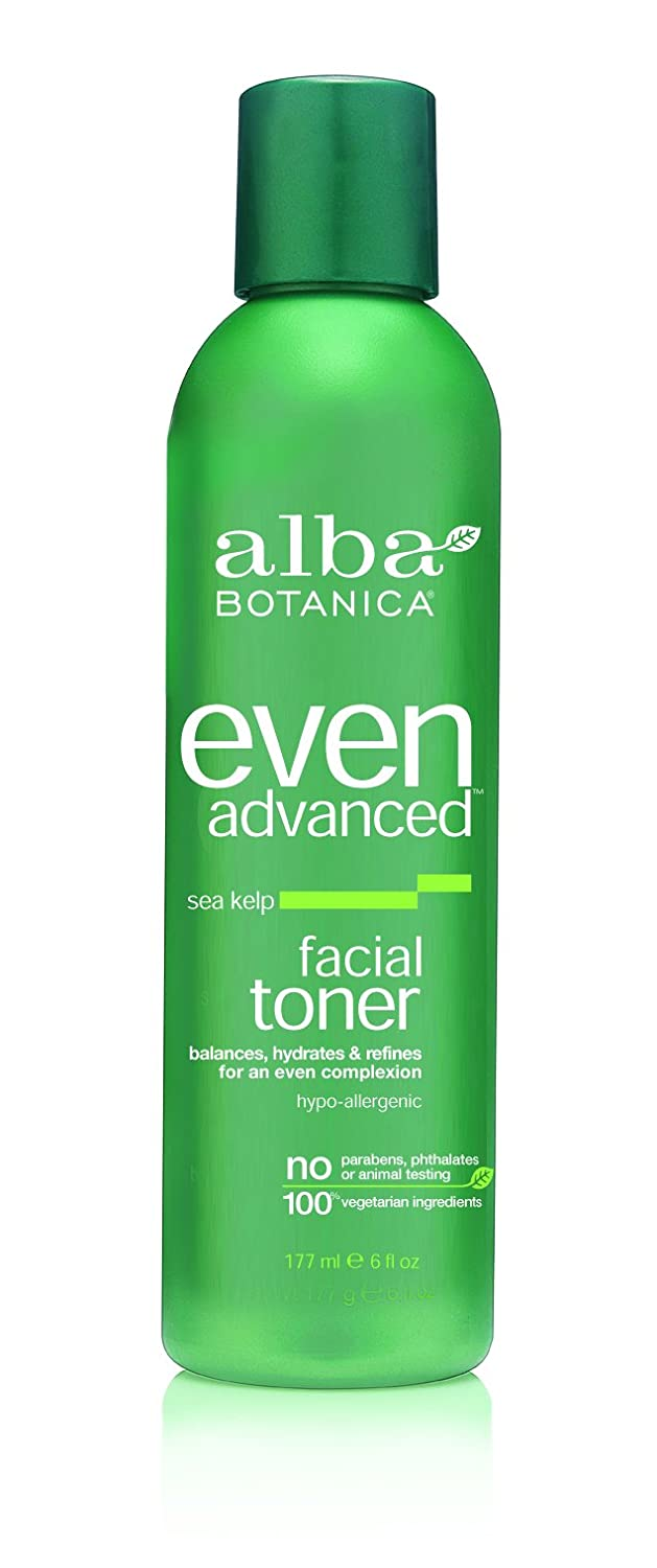 Alba Advanced Sea Kelp Facial Toner - 6 oz. by Alba Botanica (pack of 4) Life Extension Skin Lightening Serum - .5 fl oz