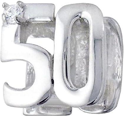 charm pandora 50 anni