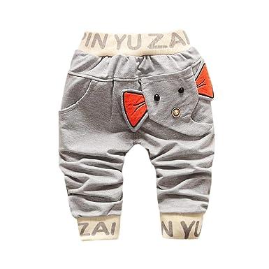ff9bd7dc101 Kids Infant Baby Girls Boys Fall Winter Warm Thick Cotton Leggings Bottoms  Pants (1T(