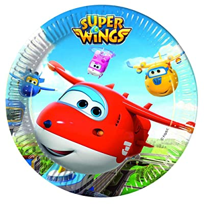 Super Wings Big Plates: Toys & Games