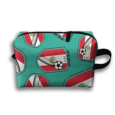 2018-football-Peru Stylish Portable Cosmetic Organizers Multifunction Travel Organizers Bags