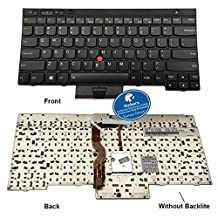 Rinbers Laptop Replacement Keyboard without Backlight for IBM Lenovo Thinkpad Edge T430 X230 X230I X230T X230I (Not Fit X230S) T430S T430I (Not Fit T430U) L430 T530 T530I W530 L530 Series