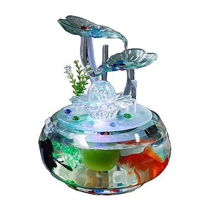amazon com gujiao water ornaments feng shui recruit simple fountain