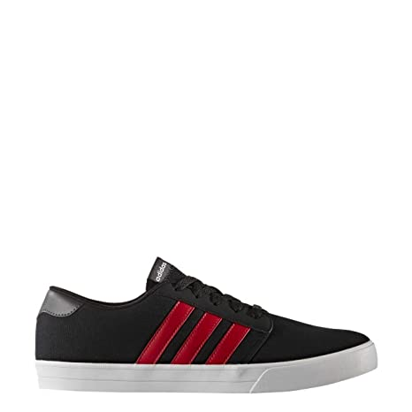 Adidas VS Skate - Zapatillas Skate para Hombre, Negro - (Negbas/Escarl/