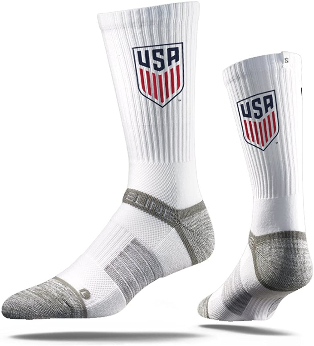 Loved By Soccer Fans Across Thes White From Strideline MLS US Soccer MLS Crew Socks The Most Comfortable Sock On Earth Officially Licensed Mls Athletic Fan Socks