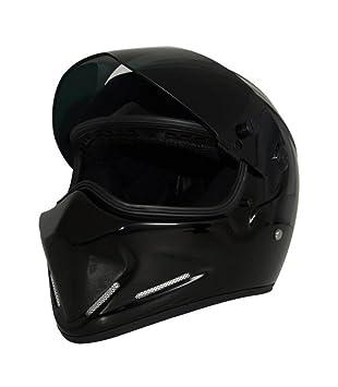 Cascos Respirables De La Motocicleta Del ABS De La Fibra De Carbono De Antifog De La