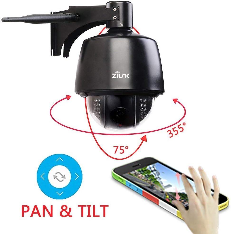 ZILNK PTZ IP Kamera 5MP Dome WLAN Outdoor 1920P Super HD