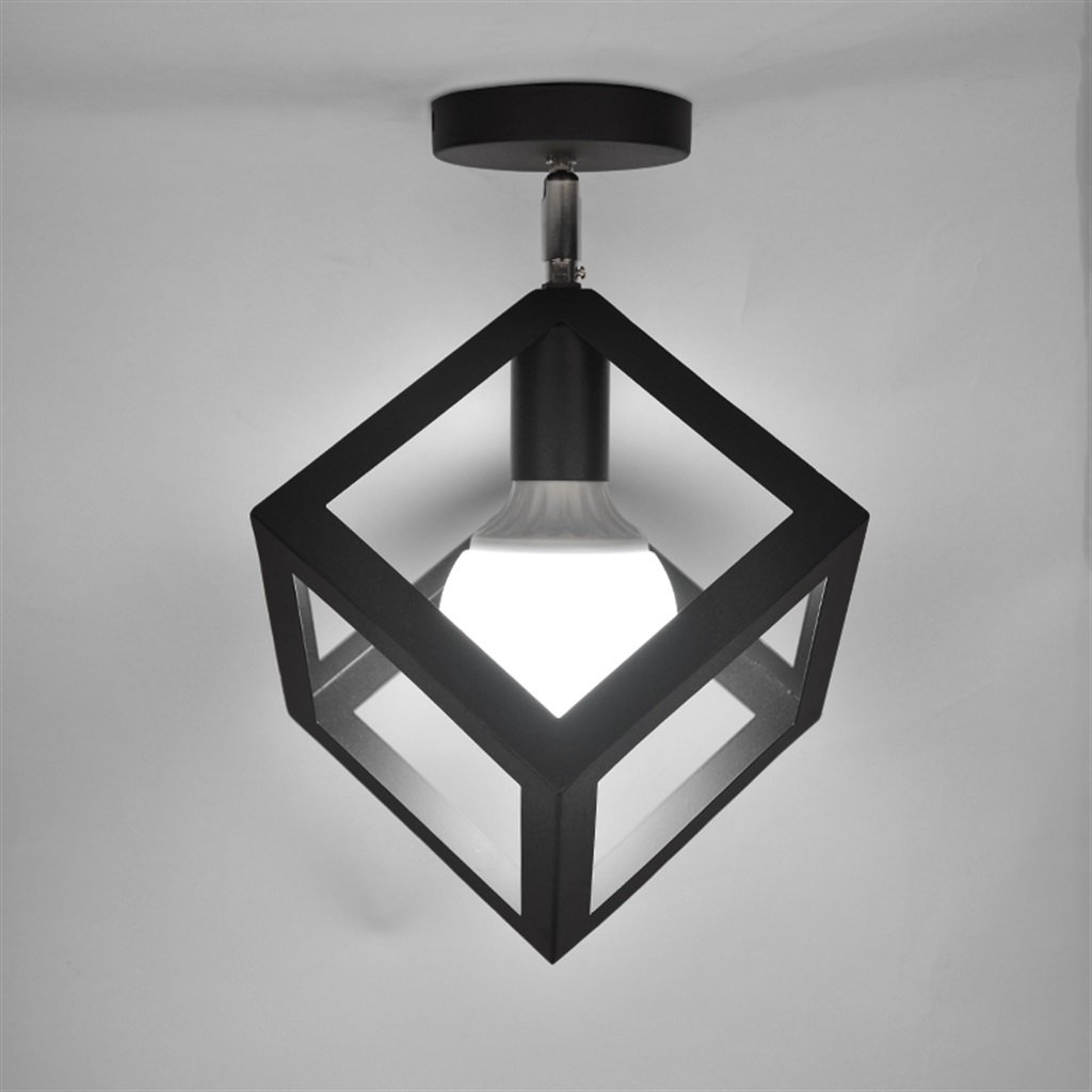 Edge To Ceiling light Black ceiling ceiling corridor for Nordic creative personalized home entrance hall corridor lights balcony windows and lights cloakroom