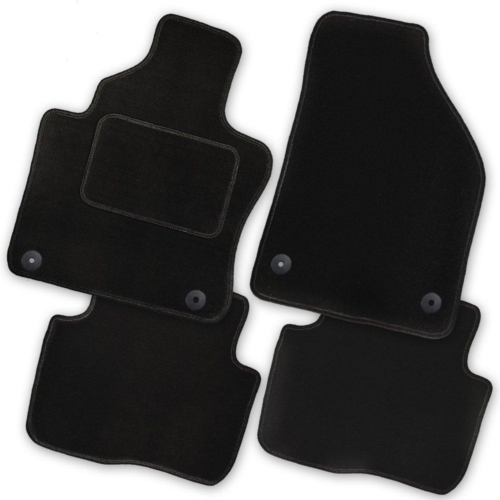 AfC-cLS sK03541 ensemble de tapis de sol noir pour skoda superb 2 3 4 portes mod/èles /à partir de 2008