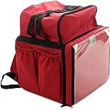 Mochila Bag Térmica Delivery Aplicativos Com Isopor Laminado - Vermelha