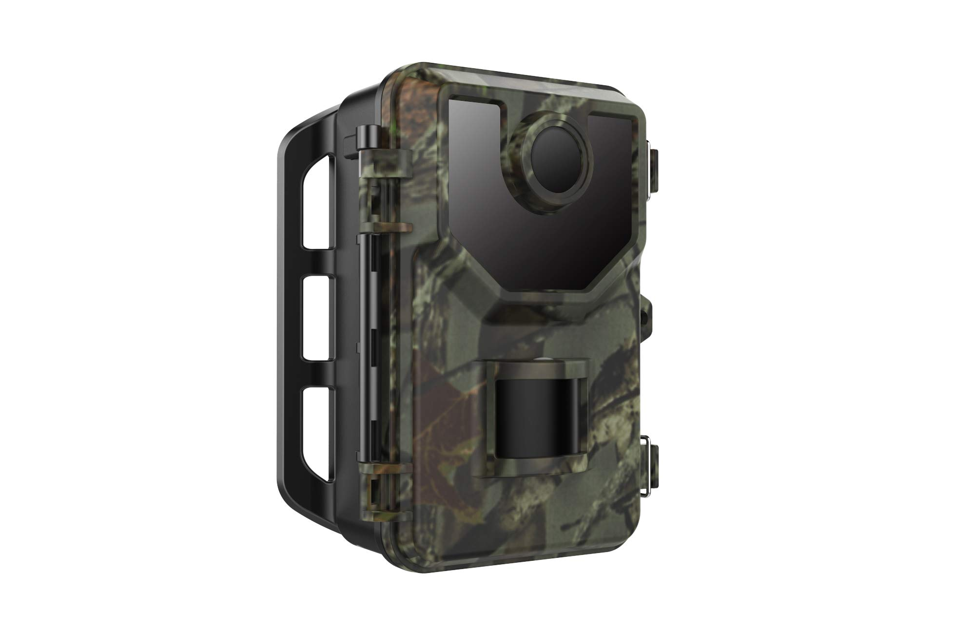 Trail Game Camera 1080P 16MP Wildlife Hunting Camera,Motion Activated Infrared Night Vision Camera for Wildlife Hunting &Home Security,2.4'' LCD Display,IP65 Waterproof,120° FOV,48 LEDs (Brown 03006)