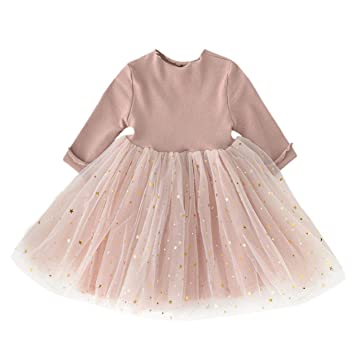 cebfa4cfcceb7 (プタス)Putars 子供服 幼児の赤ちゃん女の子子供服長袖子供王女チュール