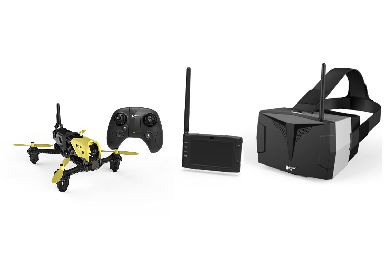 XciteRC 15030750 - Hubsan X4 Storm Racing Drone FPV cuadricóptero ...