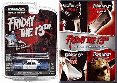 Friday the 13th DVD Movie & Police Car Horror Set Deluxe Edition Friday the 13th Part 2