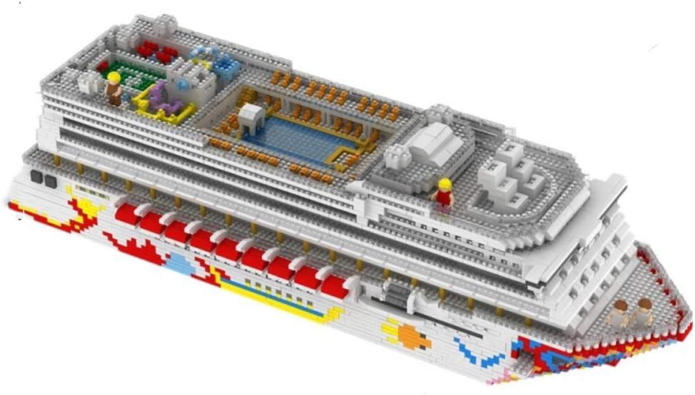 3Dパズルミニ遼寧スタードリームクルーズブロックセット(3600枚) - キッドと大人のためのアーキテクチャモデルのおもちゃギフト genneric