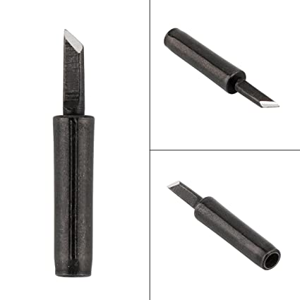 900M-T-K Solder Tip Lead-free Black Metal Soldering Iron Tips for Hakko/