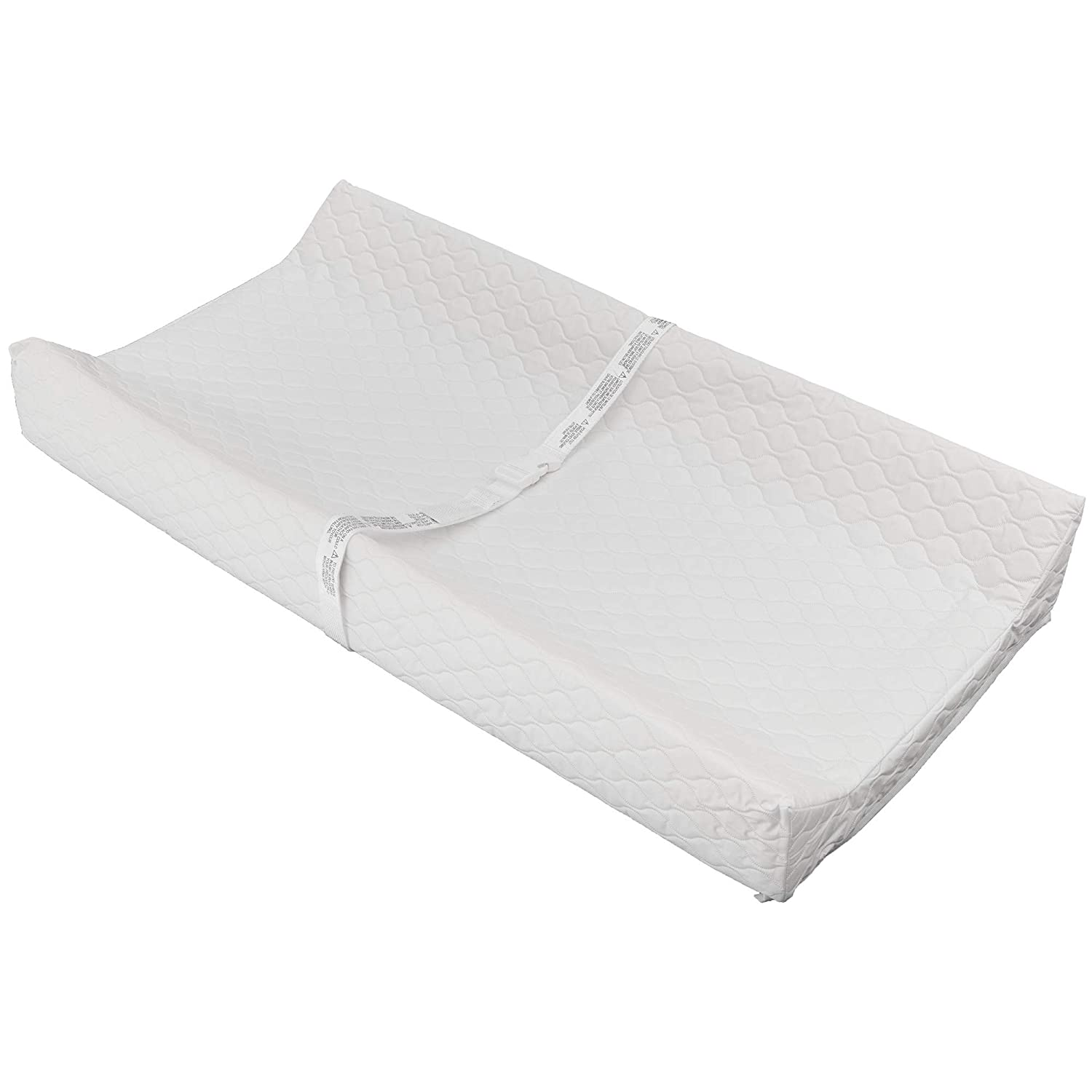 Waterproof Baby and Infant DiaperChangingPad, ComforPedic from Beautyrest, White
