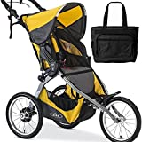 BOB Ironman Single Stroller with a diaper bag Yellow