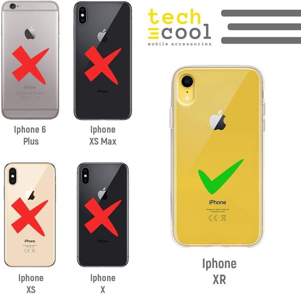 Frase Tenemos qu/ímica Transparente ver1 Gel Silicona Flexible, Dise/ño Exclusivo Funnytech/® Funda Silicona para iPhone XR