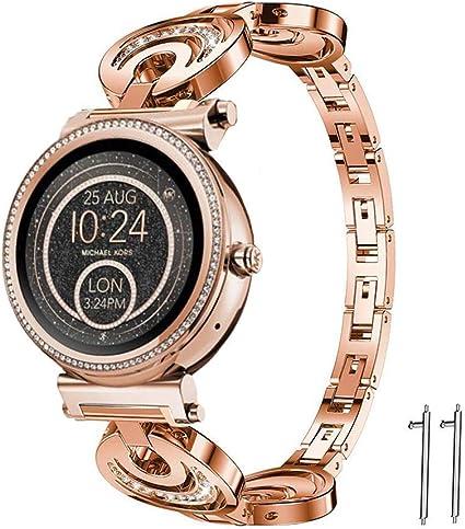 LvBU Classic Acero Inoxidable Reloj de Pulsera para Michael Kors ...